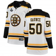Fanatics Branded Brendan Gaunce Boston Bruins Women's Breakaway Away 2019 Stanley Cup Final Bound Jersey - White