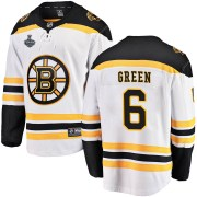 Fanatics Branded Ted Green Boston Bruins Youth Breakaway Away 2019 Stanley Cup Final Bound Jersey - White