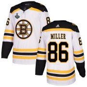 Adidas Kevan Miller Boston Bruins Men's Authentic Away 2019 Stanley Cup Final Bound Jersey - White
