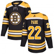 Adidas Brad Park Boston Bruins Youth Authentic Home Jersey - Black